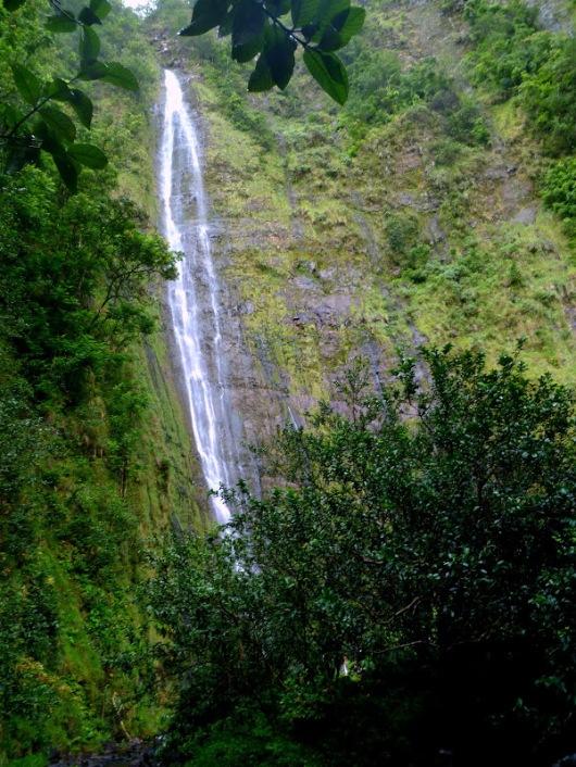 400 foot Waimoku Falls