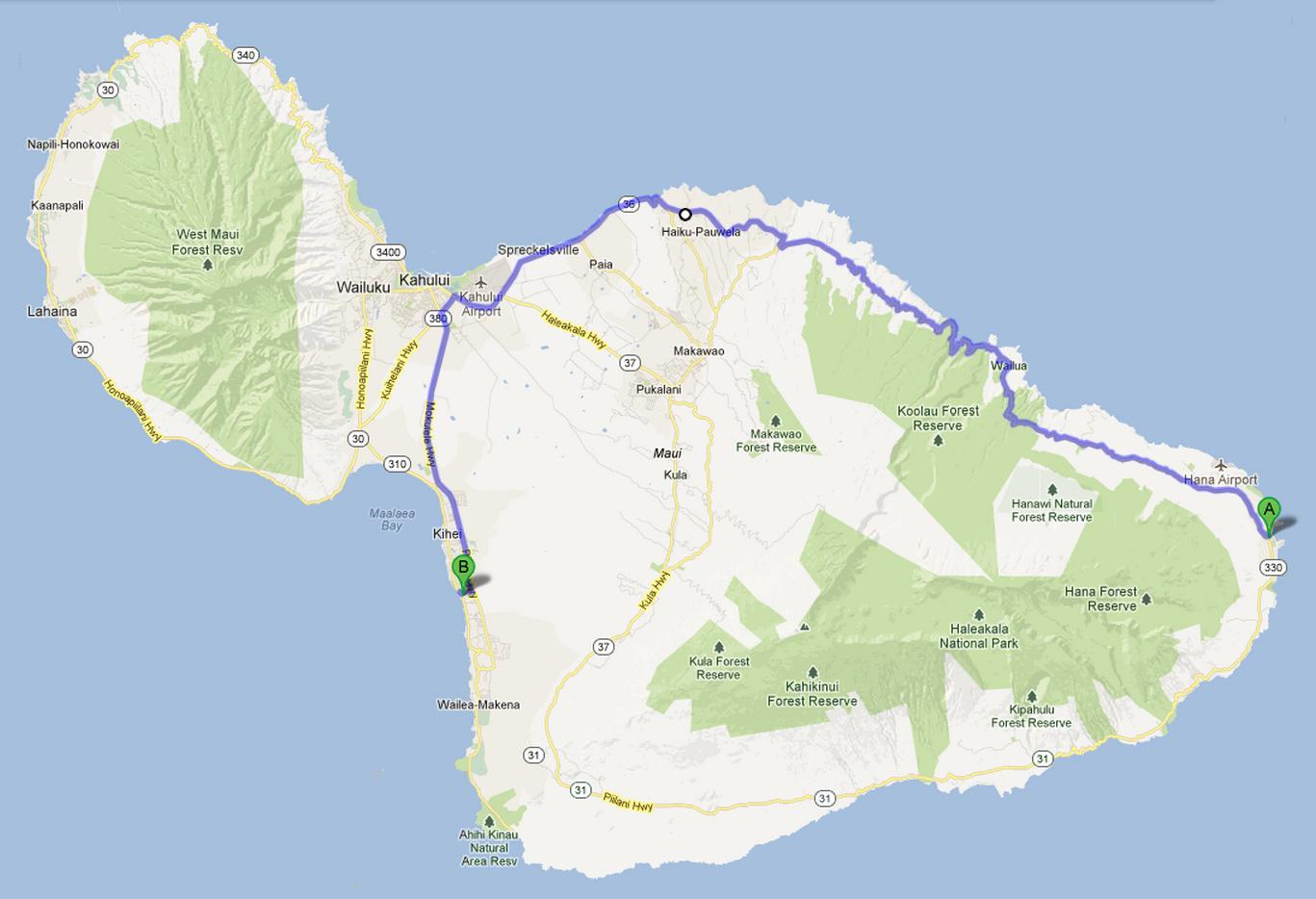 The Hana Highway | Welcome to Maui