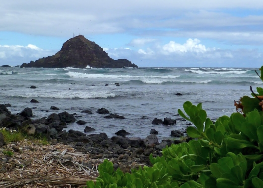 Alau Island off Koki Beach Park