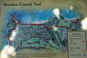 Kapalua Coastal Trail Map