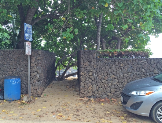 Entrance to Secret Beach